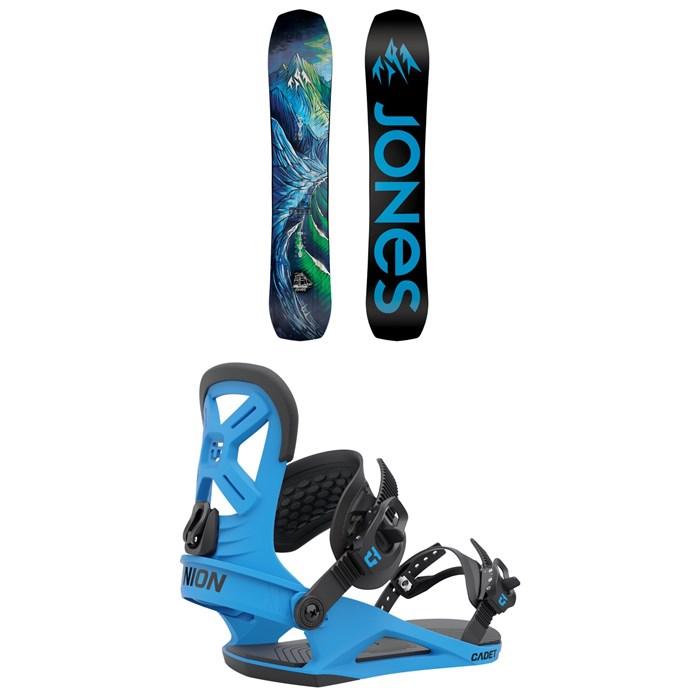 Jones - Flagship Snowboard + Union Cadet Snowboard Bindings - Kids' 2022