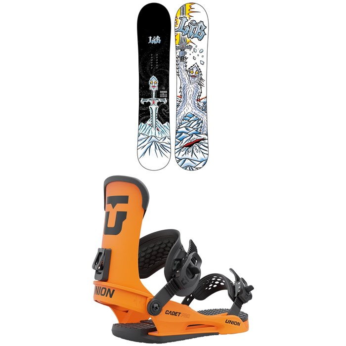 Lib Tech - Dynasword C3 Snowboard + Union Cadet Pro Snowboard Bindings - Kids' 2022