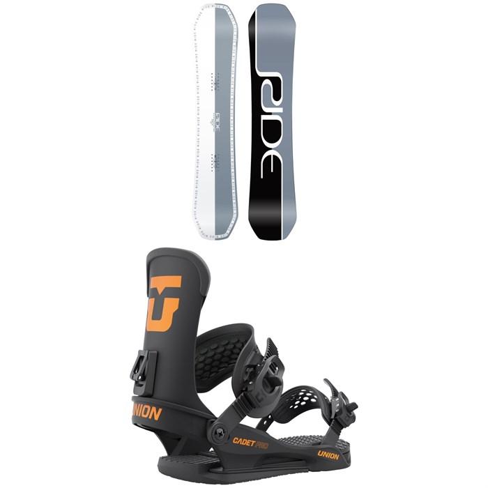 Ride - Zero Jr Snowboard + Union Cadet Pro Snowboard Bindings - Kids' 2022