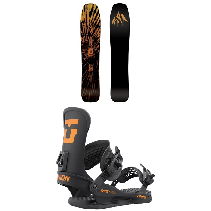 Jones - Mini Mind Expander Snowboard + Union Cadet Pro Snowboard Bindings - Kids' 2022