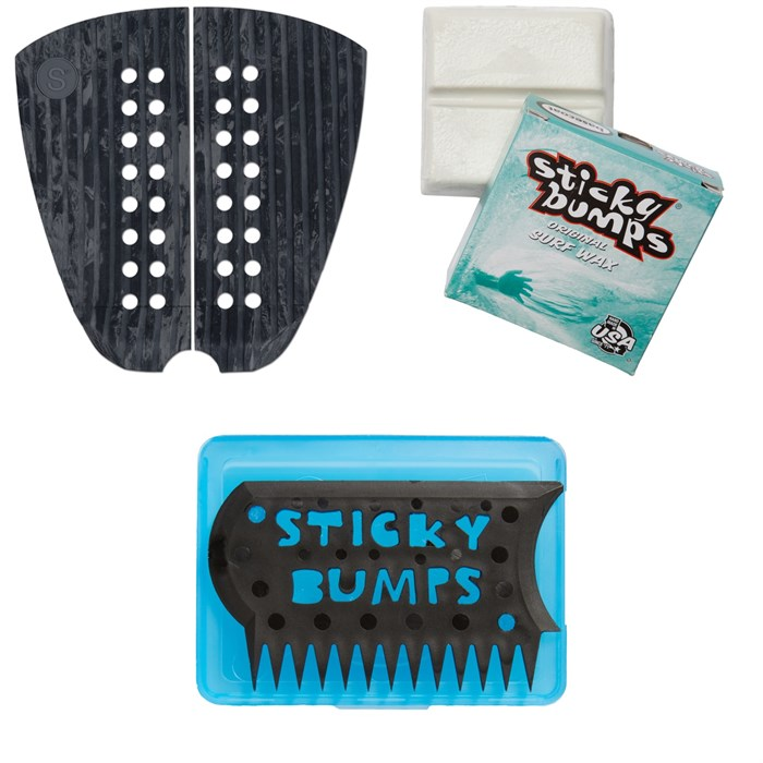 Sympl Supply Co - Nº3 Son of Cobra Traction Pad + Sticky Bumps Basecoat Wax + Wax Comb & Box