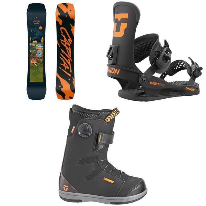 CAPiTA - Children Of The Gnar Snowboard + Union Cadet Pro Snowboard Bindings + Cadet Snowboard Boots - Kids' 2022
