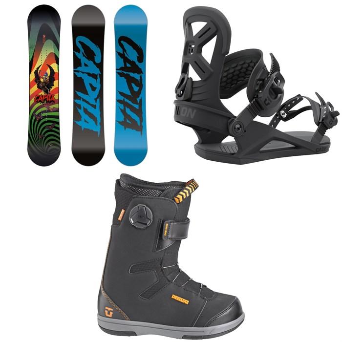 CAPiTA - Scott Stevens Mini Snowboard + Union Cadet Snowboard Bindings + Cadet Snowboard Boots - Kids' 2022