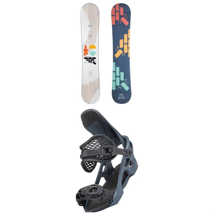 Arbor - Relapse Snowboard + Spruce Snowboard Bindings 2022