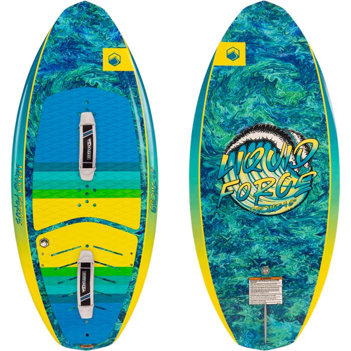 Liquid Force - Gromi + Straps Wakesurf Board - Kids' 2022