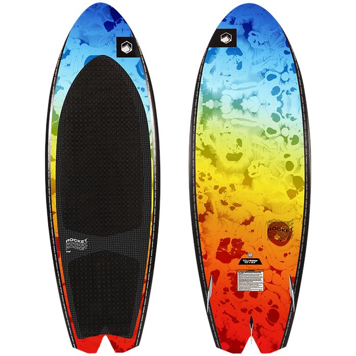 Liquid Force - Rocket Wakesurf Board with Surf Rope 2022