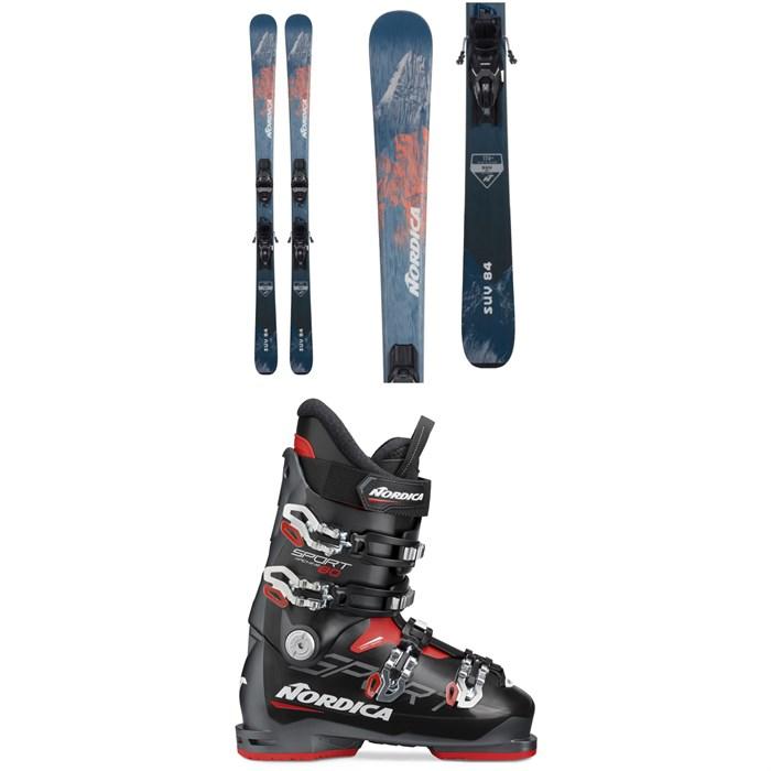 Nordica - SUV 84 Skis + TP2 Compact 10 FDT Ski Bindings + Sportmachine 80 Ski Boots 2022