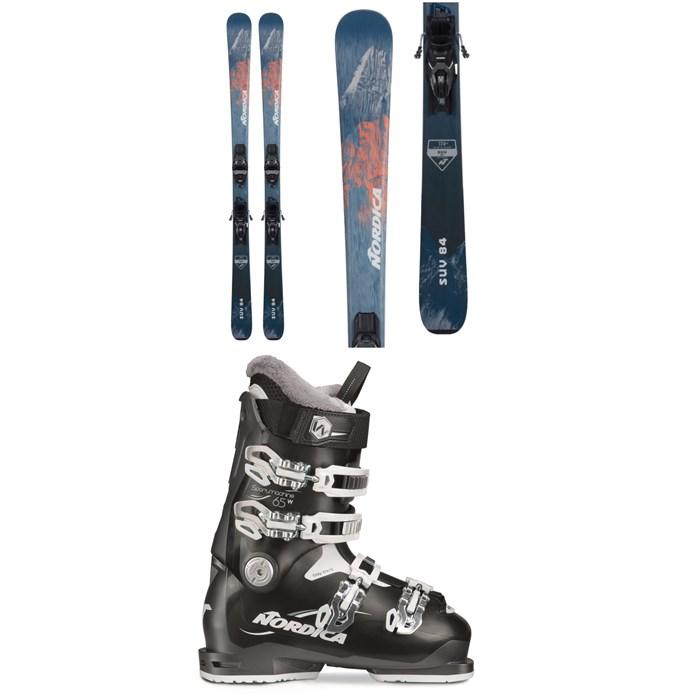 Nordica - SUV 84 Skis + TP2 Compact 10 FDT Ski Bindings + Sportmachine 65 W Ski Boots - Women's 2022