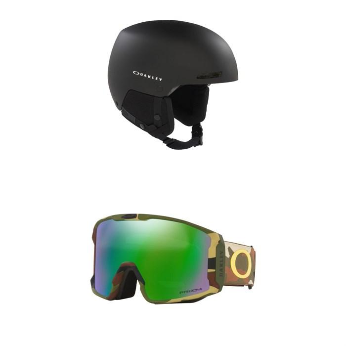 Oakley - MOD 1 Pro MIPS Helmet + Line Miner XL Goggles