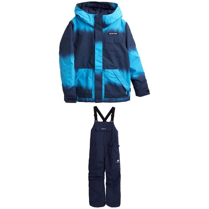Burton - Dugout Jacket - Boys' + Skylar Bibs - Kids' 2022