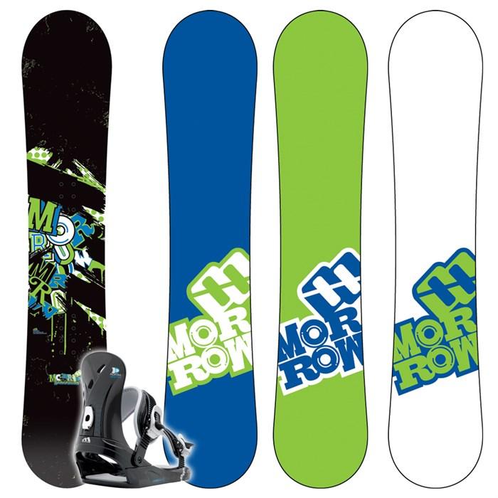 Shop Morrow Generation 138 cm Youth Snowboard - Free ...