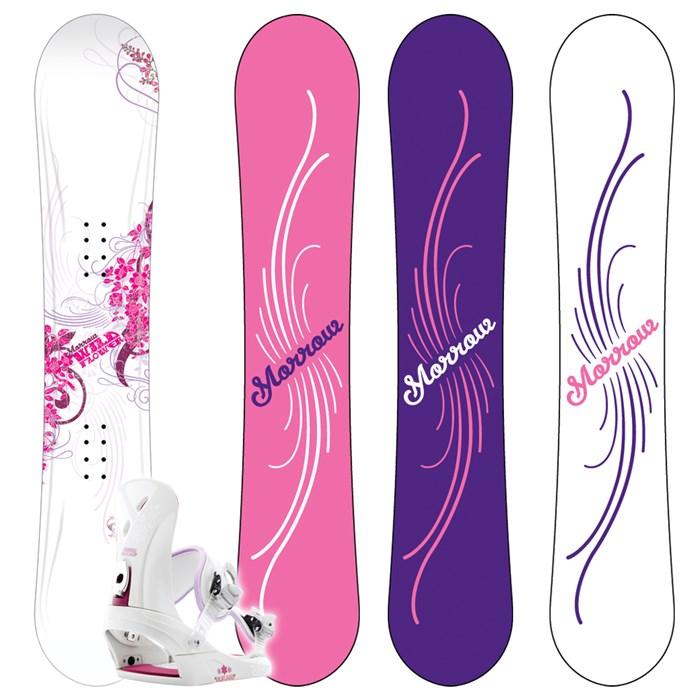 Morrow Wildflower Snowboard + Wildflower Bindings