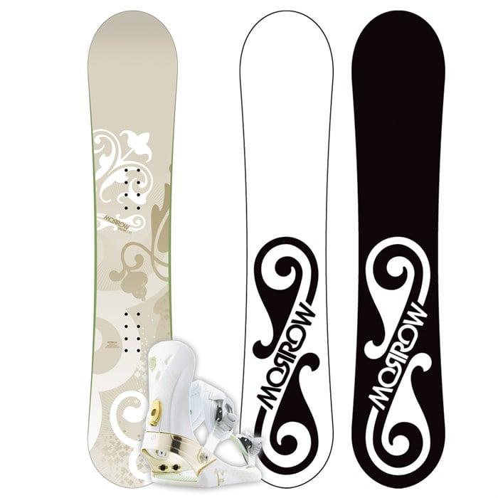 Morrow Dream Snowboard + Lotus Bindings - Women's 2009