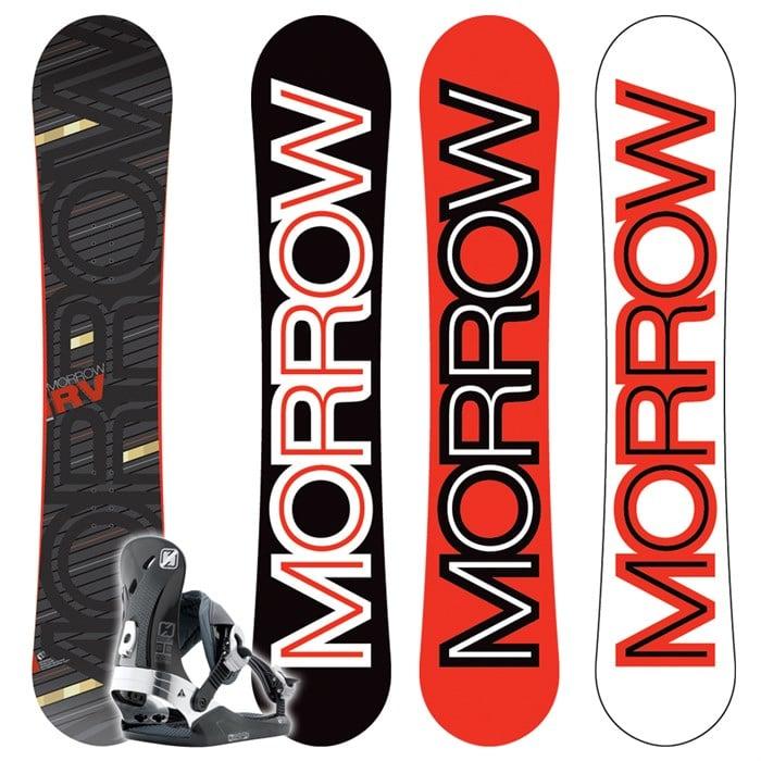 Morrow RV Wide Snowboard + Invasion Bindings 2009