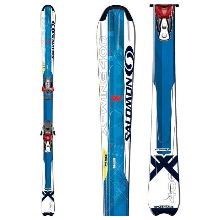 Salomon X Wing 400 Skis + Bindings - Used 2007 - Used