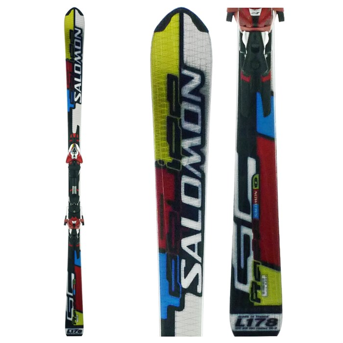 La chaine Salomon-equipe-gc-race-skis-bindings-used-2007