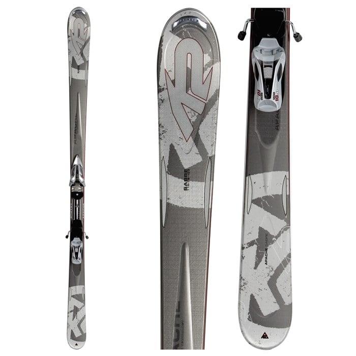 K2 - Apache Saber Skis + Marker M2 10.0 Bindings 2008