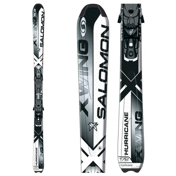 Salomon XW Hurricane Skis + Z10 Bindings 2009