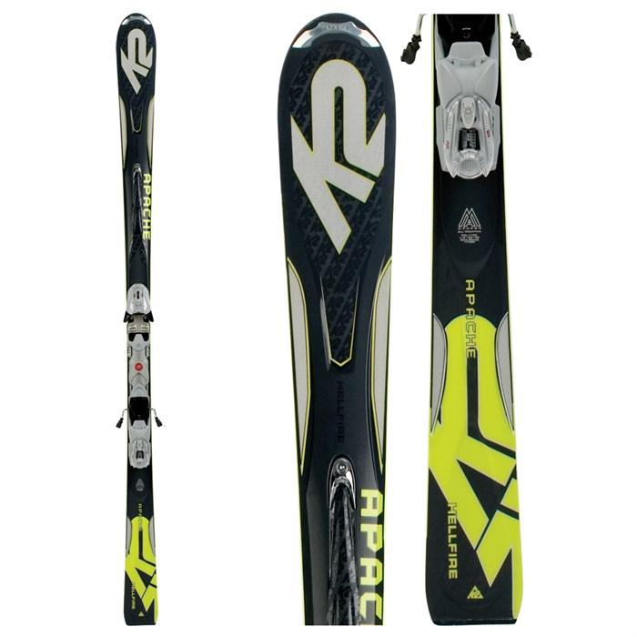 K2 Apache Hellfire Skis + Marker M2 11.0 Twincam Bindings