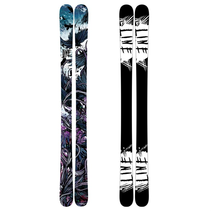 Line Skis - Line Skis Chronic Cryptonite Skis 2010