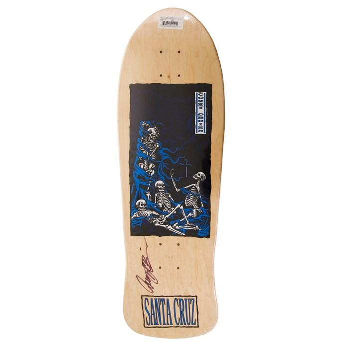 Santa Cruz Corey Obrien Purgatory Signed Skateboard Deck   evo