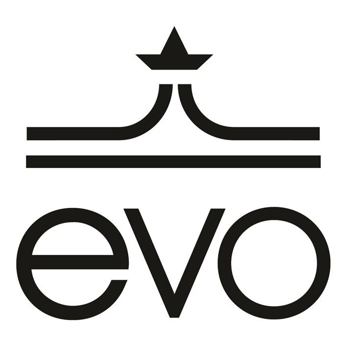 """evo - 9"""" Die Cut Sticker"""
