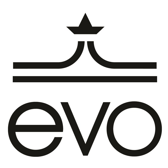 "evo - 12"" Die Cut Sticker"