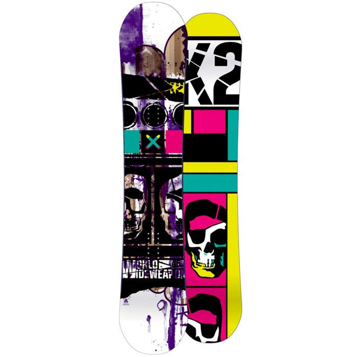 K2 - WWW (World Wide Weapon) Snowboard 2010