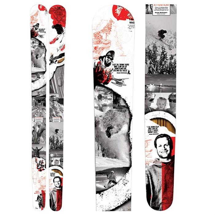 K2 - Shane McConkey Tribute Pontoon Skis 2010