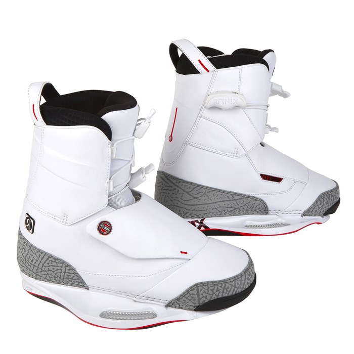 Ronix - One Wakeboard Boots (White) 2010