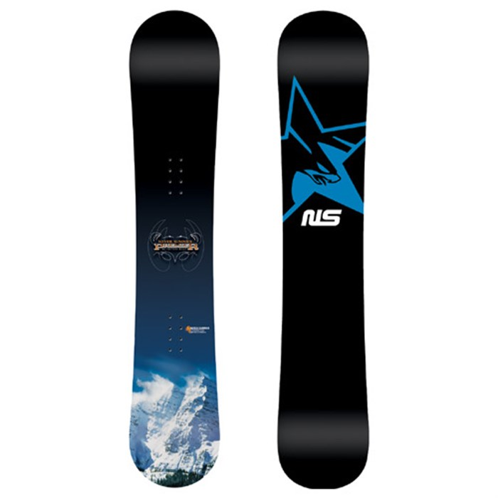 Never Summer Premier Black Snowboard 2006 Evo