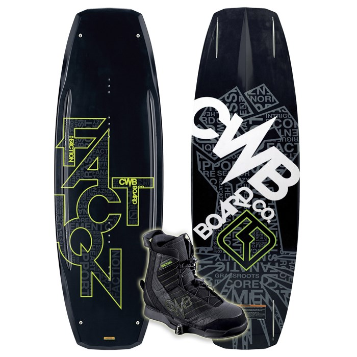 CWB - Faction Wakeboard + Faction Boots 2010