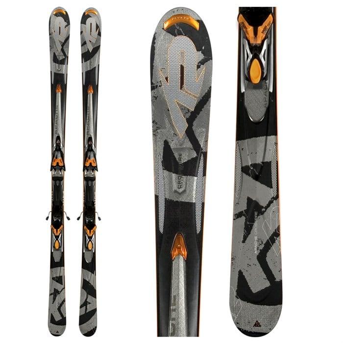 K2 Apache Crossfire Skis + Bindings - Used 2008