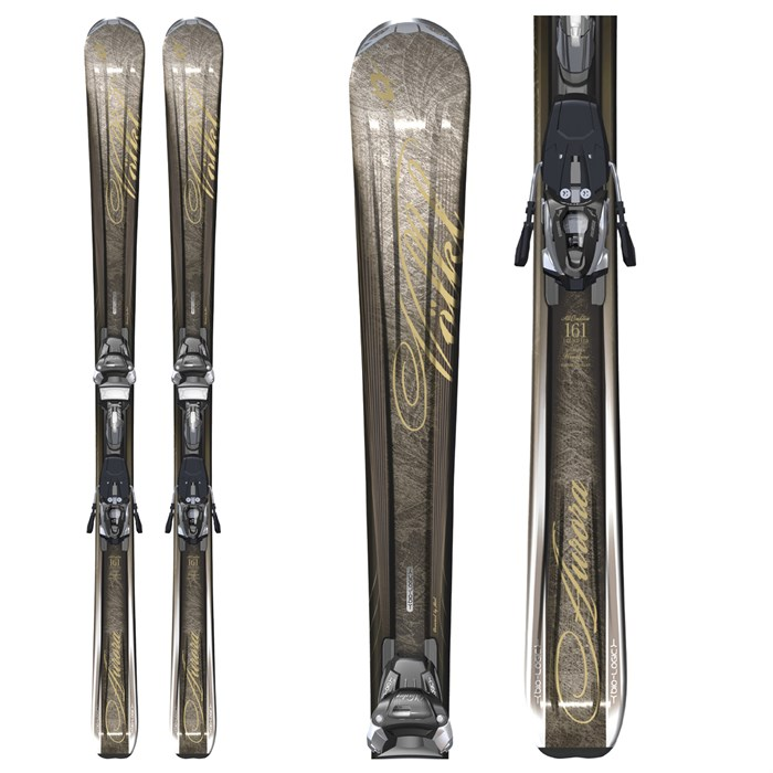 Volkl Attiva Aurora Skis + Marker IPT WR 12.0 Bindings