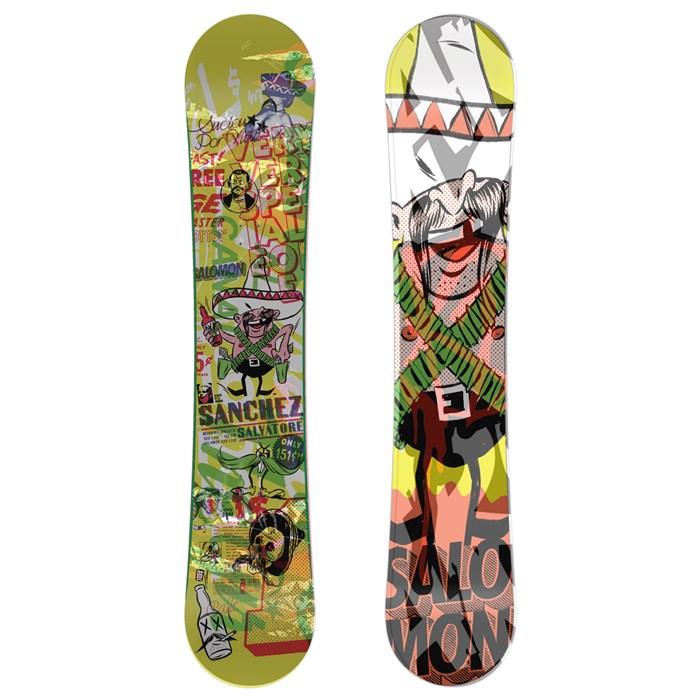 Salomon - Salvatore Sanchez Rocker Snowboard 2011