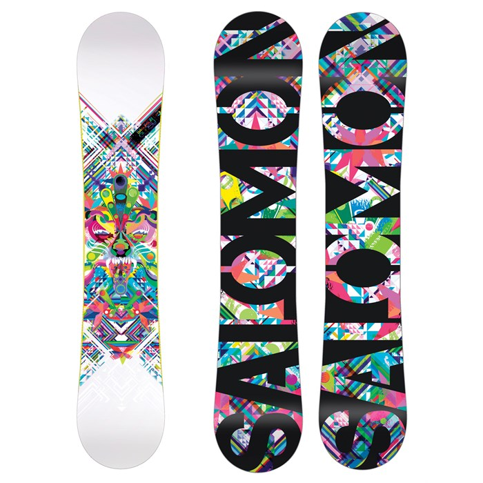 56febe942915 Salomon Gypsy Rocker Snowboard - Women s 2011