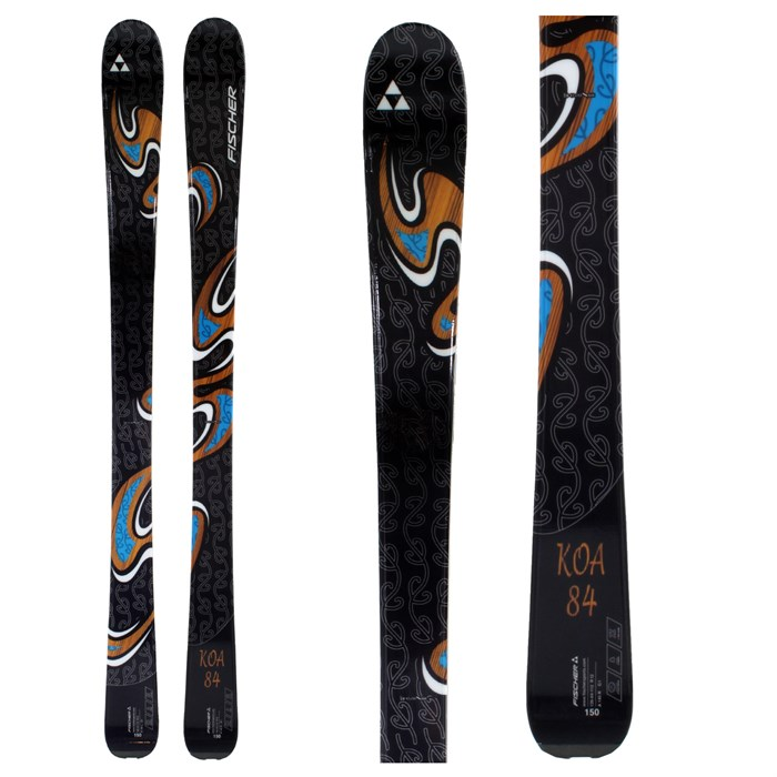 Fischer - Koa 84 Skis - Women's 2010
