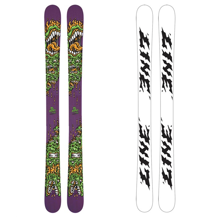 Line Skis - Afterbang Shorty Skis - Youth 2011
