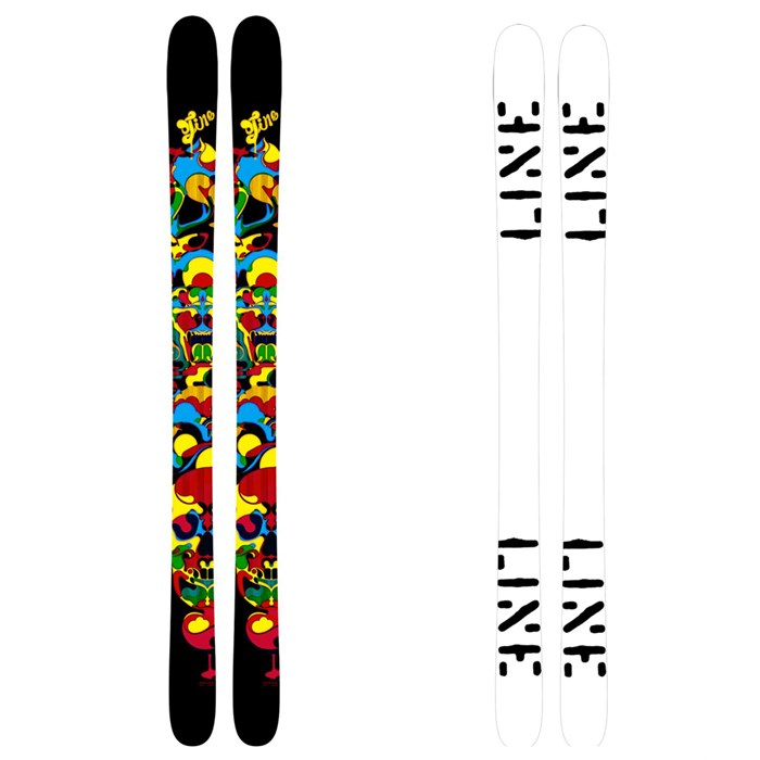 Line Skis - Super Hero Skis - Youth 2011