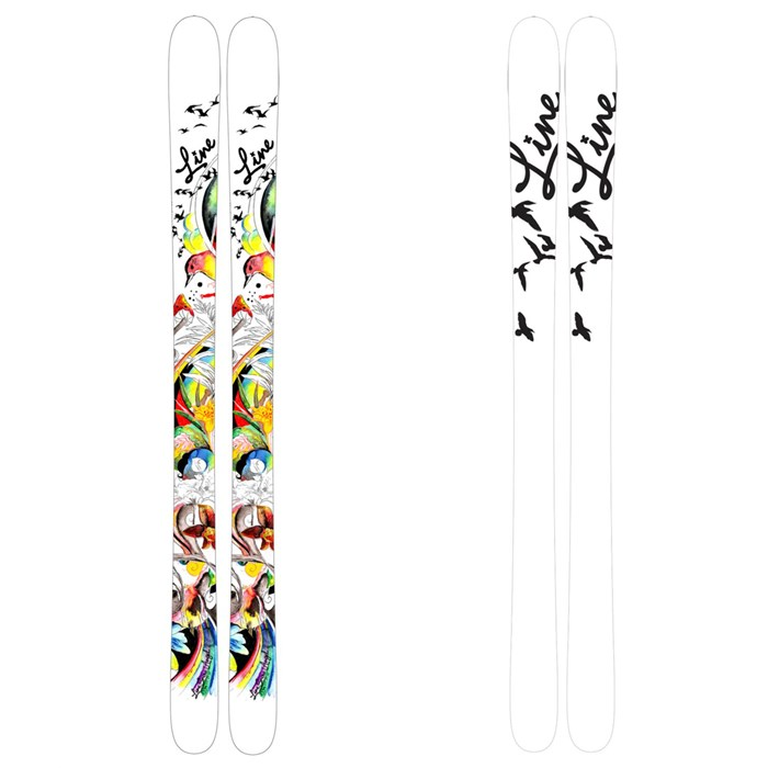 Line Skis - Line Skis Snow Angel Skis - Youth 2011