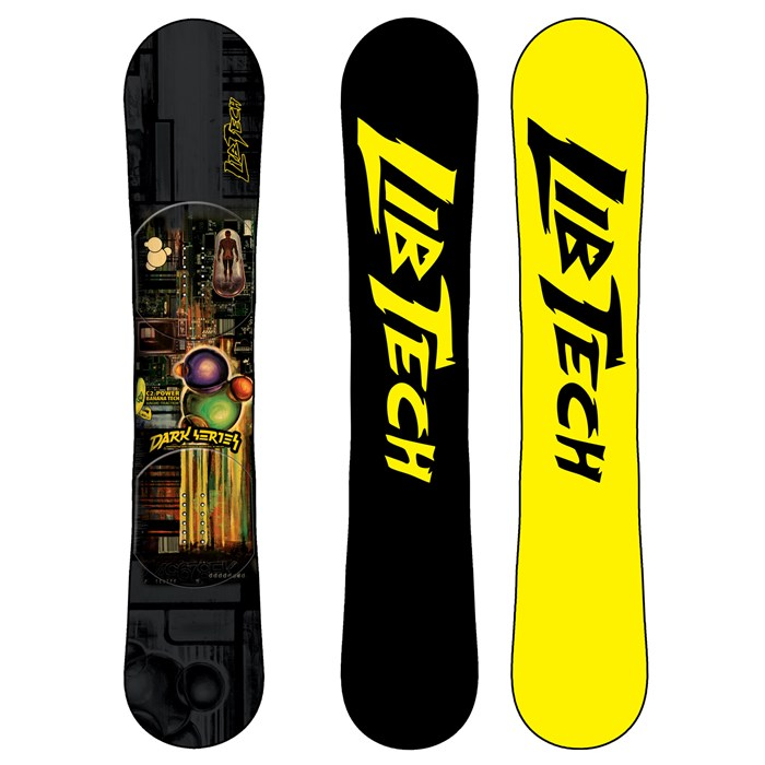 lib tech   dark series c2btx banana rocker snowboard 2011     lib tech dark series c2btx banana rocker snowboard 2011   evo  rh   evo