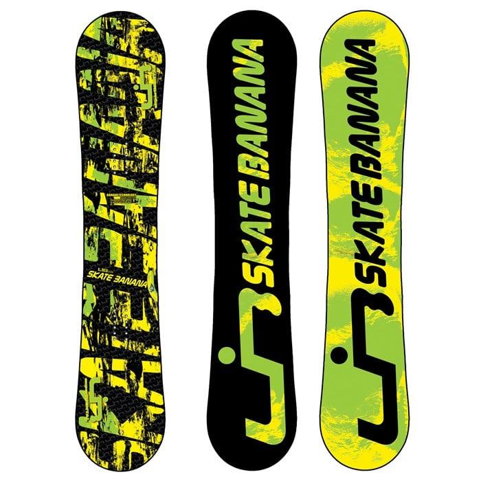 Lib Tech - Skate Banana BTX Banana Rocker (Yellow/Green) Snowboard 2011