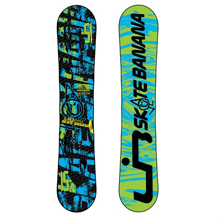 Lib Tech - Lib Ripper Skate Banana BTX Banana Rocker (Blue/Green) Snowboard - Youth 2011