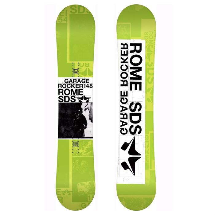 Rome Garage Rocker Snowboard 2011 Evo