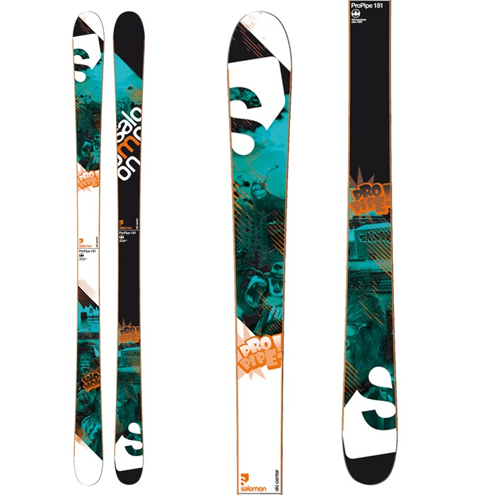 Salomon - Pro Pipe Skis 2011