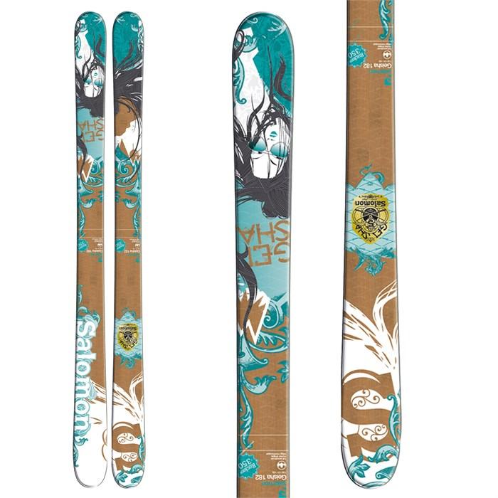 Salomon Suspect Skis 2011
