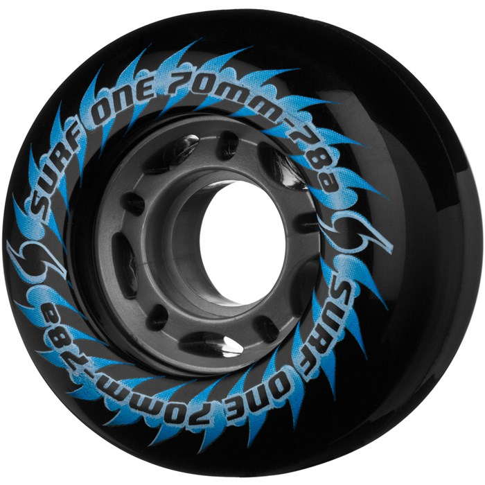 Surf One - 5-Star Hubbed Longboard Wheels