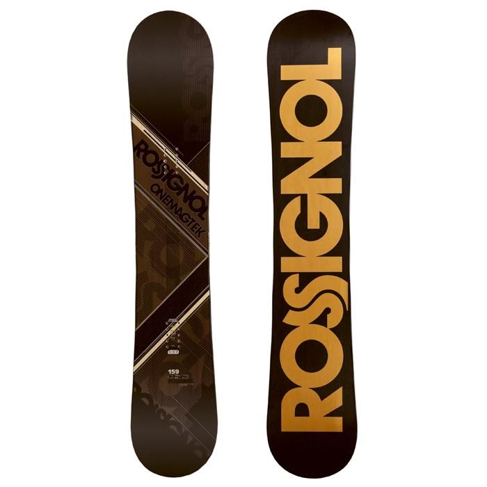 rossignol one magtek rocker snowboard 2011 evo outlet