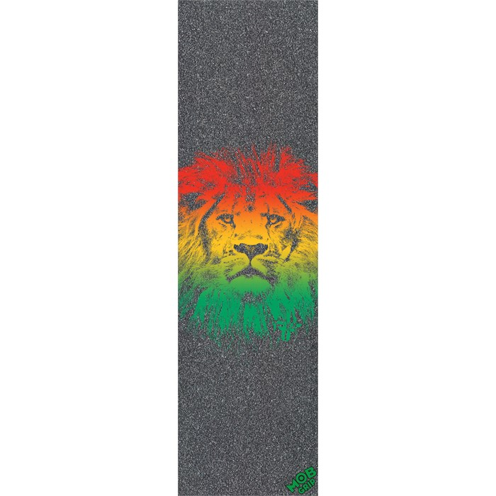 6eb687df76 Fallen Rasta Lion Graphic Mob Grip Tape Sheet | evo