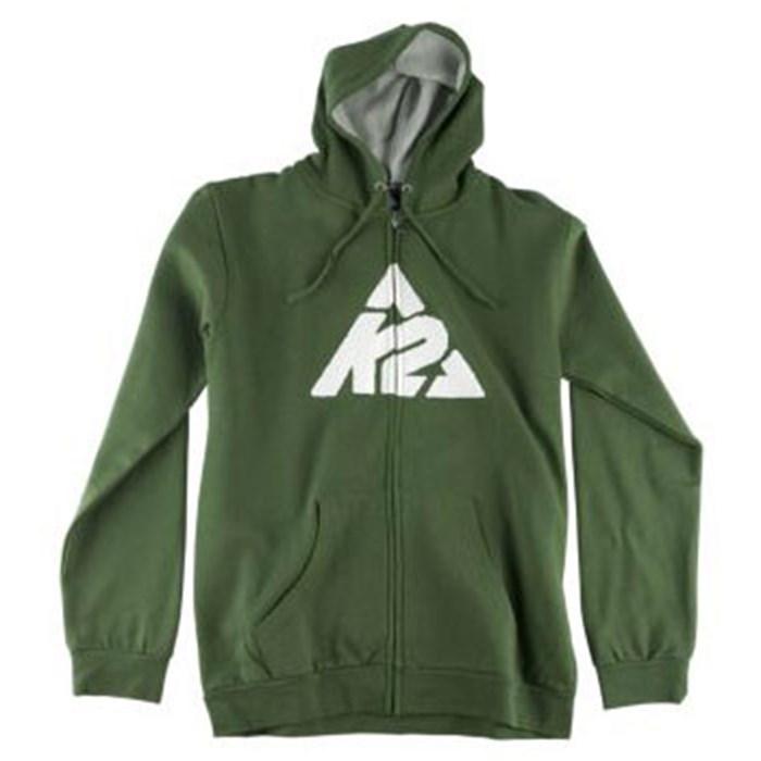 K2 - Branded Full Zip Hoodie